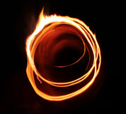 płomień poboru gwiazda światła Obraz Royalty Free