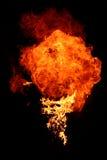 płomień przeciwpożarowe fotografia stock