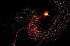 Płomienia ładunek Zdjęcia Stock