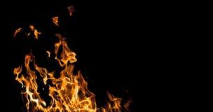 Płomienia tła ewentualni pisania Zdjęcia Royalty Free