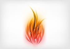 Płomienie ilustracja wektor