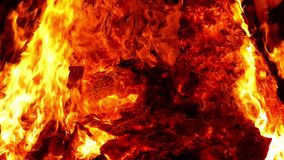 Płomienie ognisko swobodny ruch zdjęcie wideo