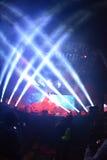 Płomienne wargi Scottsdale, AZ usa - Prawdziwy festiwal muzyki - obraz royalty free