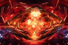 płomienny kamień Zdjęcie Royalty Free
