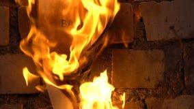 Płomienny słowa backache zdjęcie wideo