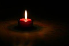 płonąca świece czerwony zdjęcia royalty free