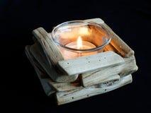 Płonąca świeczka Fotografia Stock