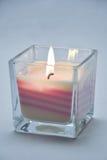 płonąca candle Fotografia Stock