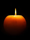 płonąca candle Zdjęcia Stock