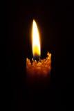 płonąca candle Obraz Stock