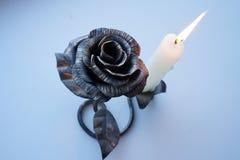 płonąca candle Zdjęcie Royalty Free
