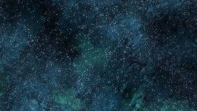 Płonąca czaszka. Alfy skołtuniony wideo ilustracja wektor