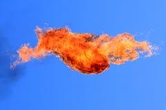 płonąca ilustracyjna pochodnia zdjęcie stock