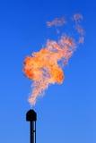 płonąca ilustracyjna pochodnia zdjęcia stock