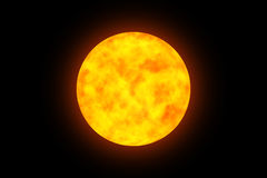 Płonąca planeta 2 Zdjęcie Stock