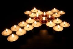 płonąca religii. zdjęcia royalty free