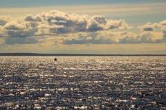 płonąca woda Fotografia Royalty Free