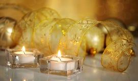 Płonące świeczki zdjęcie stock