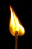 płonący dopasowanie Zdjęcie Royalty Free