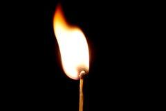 płonący dopasowanie Zdjęcie Stock