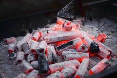 płonący drewna Obrazy Stock