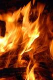 płonący gorący Zdjęcia Stock