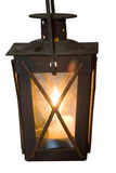 płonący lampion Zdjęcie Stock