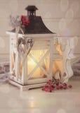 Płonący lampion Fotografia Royalty Free