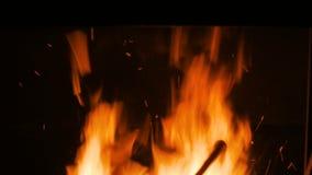 Płonący ogień w pu zbiory