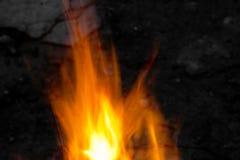 Płonący płomień ogień w tle zdjęcie royalty free