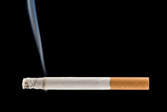 płonący papierosa Fotografia Stock