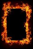 płonący pożarniczy przedmioty Obrazy Stock