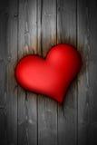 Płonący serce ilustracja wektor