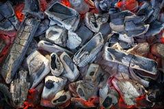 Płonący węgiel Zdjęcie Royalty Free