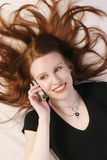 płonący włosy Fotografia Stock