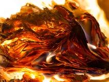 Płonie gdy palący papier obrazy stock
