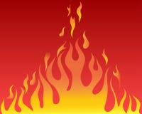 płonie jęzory royalty ilustracja
