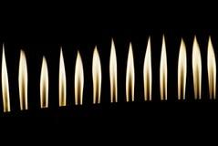 płonie ogień obrazy stock