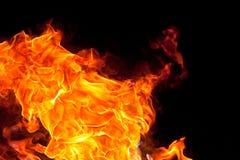 Płonie tło Obraz Stock