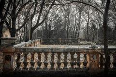 Płotowa płotowa kolumna Zdjęcie Stock