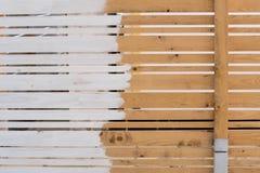 płotowi lata łąkowi słoneczniki drewniane Obraz Royalty Free