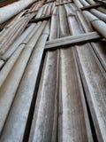 płotowi lata łąkowi słoneczniki drewniane Obrazy Royalty Free