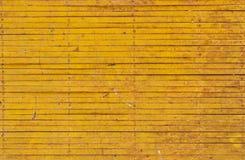 płotowy żelazny kolor żółty zdjęcia stock