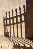 Płotowy cień obraz royalty free