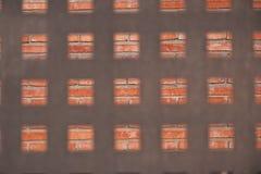płotowy metalu kształta kwadrat Obraz Stock