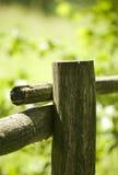 płotowy stary drewniany zdjęcia stock