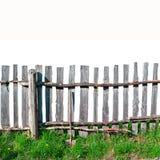 płotowy stary drewniany fotografia stock