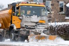 pługu śnieg Obrazy Stock