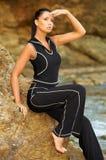 płyń fizyczny fitness Fotografia Stock