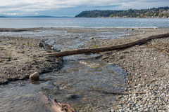 Płynąć W Puget Sound Obraz Royalty Free